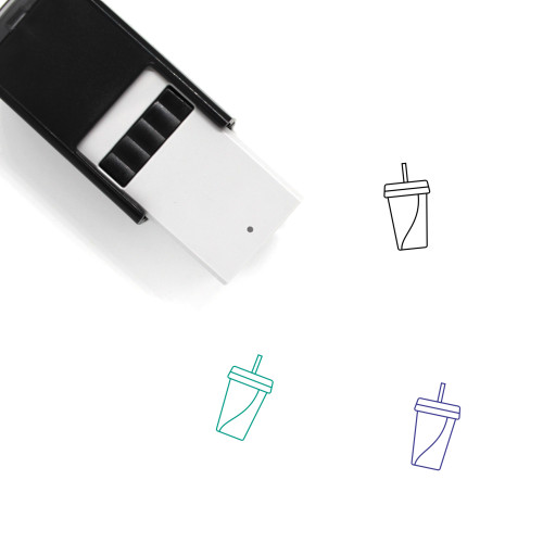 Soda Self-Inking Rubber Stamp No. 25