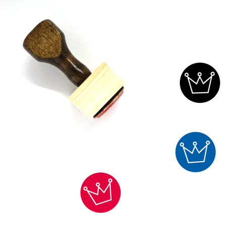 King Wooden Rubber Stamp No. 433