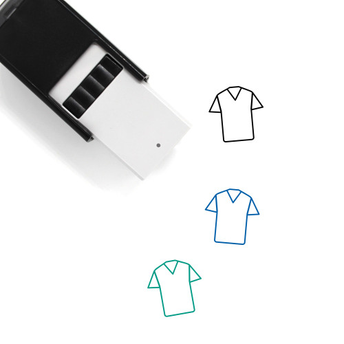 Clothes Self-Inking Rubber Stamp No. 200