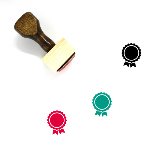 Award Wooden Rubber Stamp No. 184