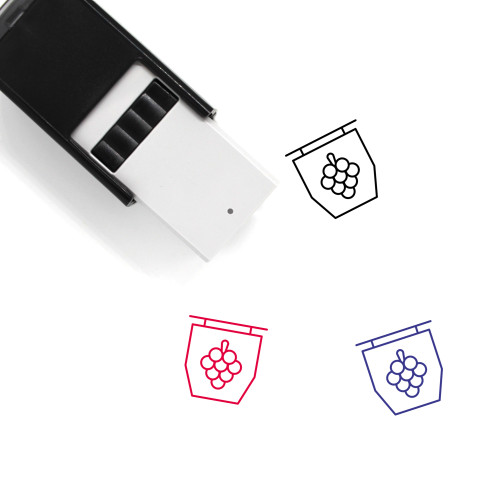 Winery Self-Inking Rubber Stamp No. 16