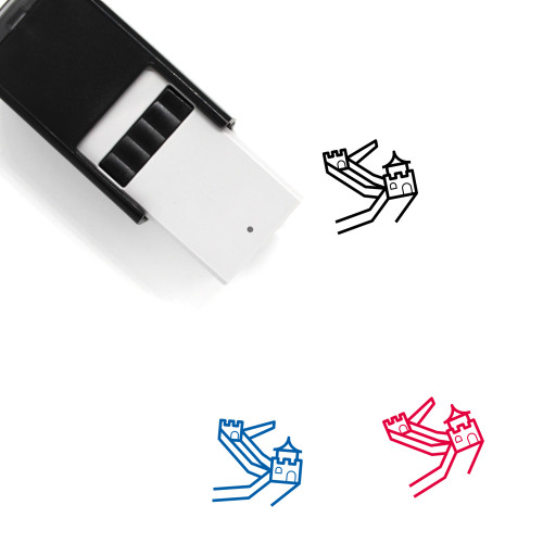 Great Wall Self-Inking Rubber Stamp No. 13
