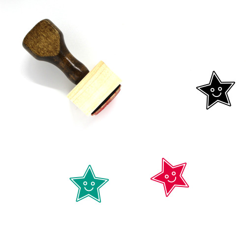 Entertainment Wooden Rubber Stamp No. 25