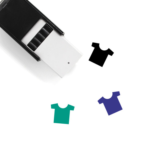 Clothes Self-Inking Rubber Stamp No. 201