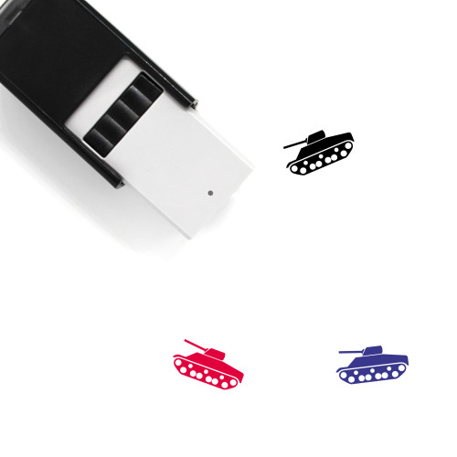 Tank Self-Inking Rubber Stamp No. 98
