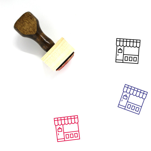 Commerce Wooden Rubber Stamp No. 62