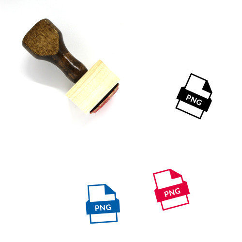 PNG File Wooden Rubber Stamp No. 69