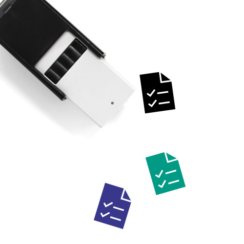 Mark Self-Inking Rubber Stamp No. 38