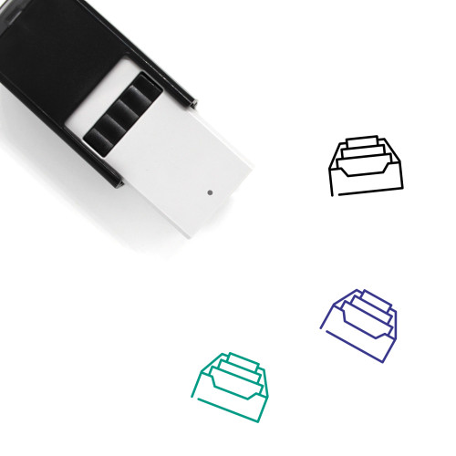 Inbox Self-Inking Rubber Stamp No. 89