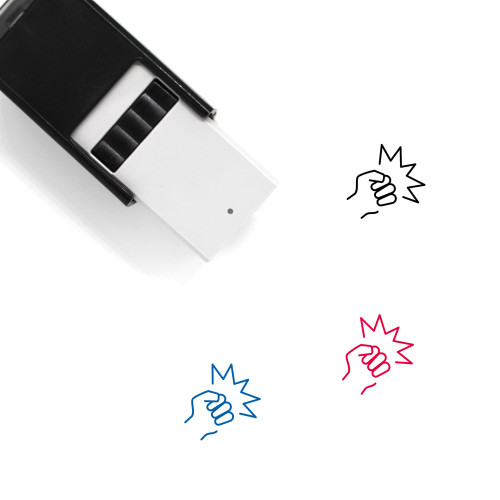 Fighting Self-Inking Rubber Stamp No. 5