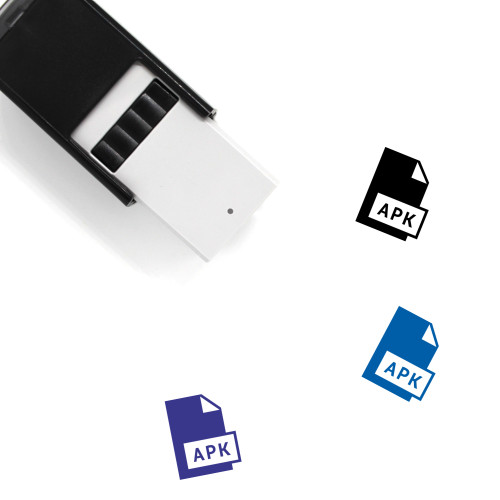 Apk Self-Inking Rubber Stamp No. 13