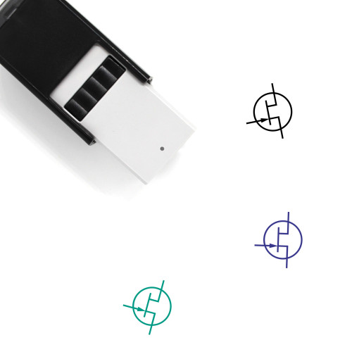 Transistor Self-Inking Rubber Stamp No. 40