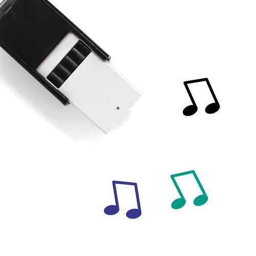Music Note Self-Inking Rubber Stamp No. 87