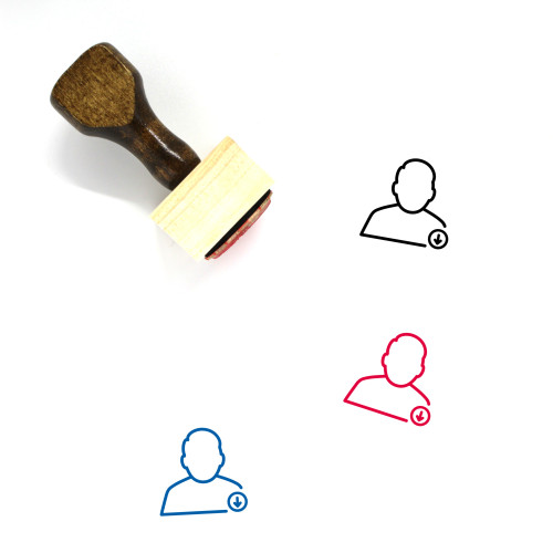 User Download Wooden Rubber Stamp No. 28