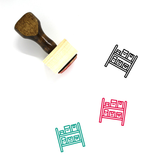 Stock Wooden Rubber Stamp No. 38
