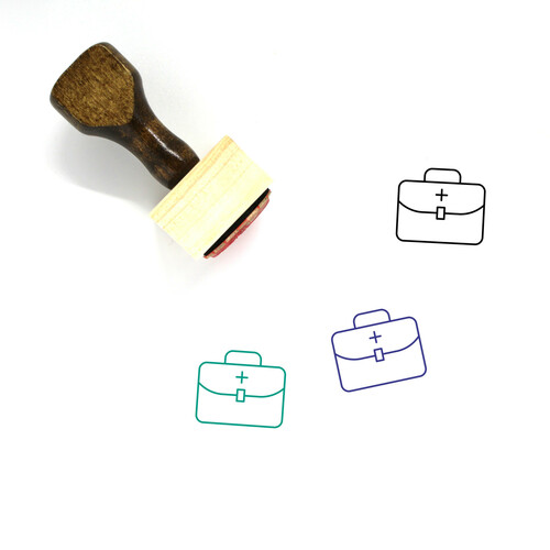 Aid Wooden Rubber Stamp No. 52