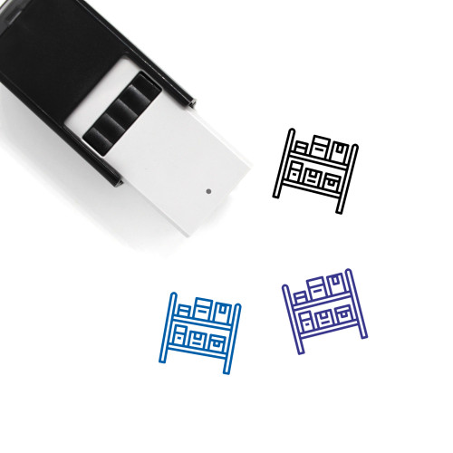 Stock Self-Inking Rubber Stamp No. 38