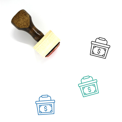 Commerce Wooden Rubber Stamp No. 63