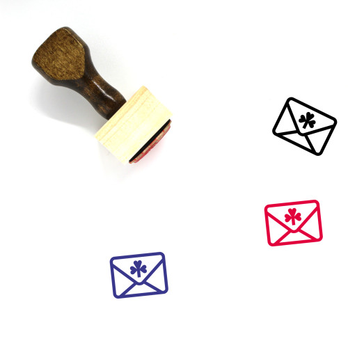 Lucky Letter Wooden Rubber Stamp No. 2