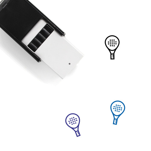 Paddle Self-Inking Rubber Stamp No. 5
