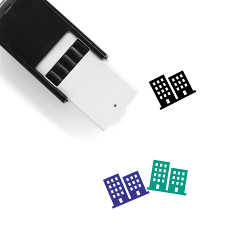 Buildings Self-Inking Rubber Stamp No. 109