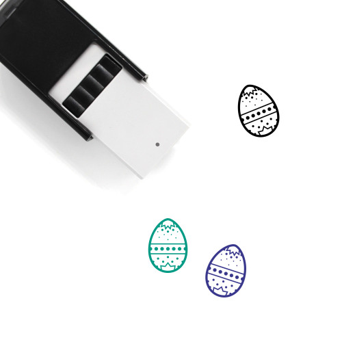 Easter Egg Self-Inking Rubber Stamp No. 112