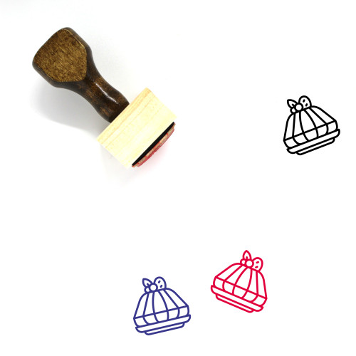 Jelly Wooden Rubber Stamp No. 31