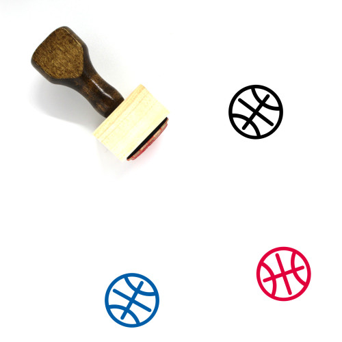 Sports Wooden Rubber Stamp No. 177