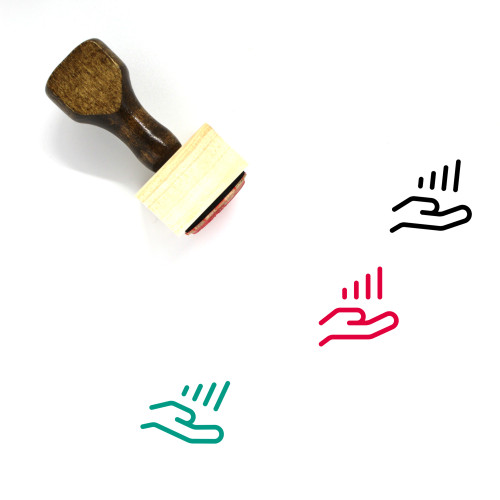 Growth Data Wooden Rubber Stamp No. 1