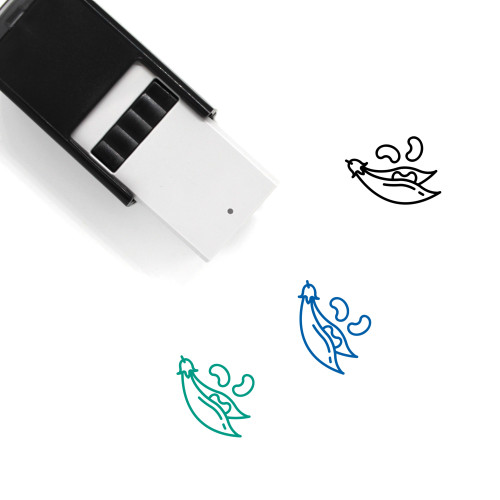 Beans Self-Inking Rubber Stamp No. 41