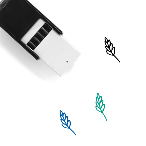 Aromatic Herbs Self-Inking Rubber Stamp No. 22