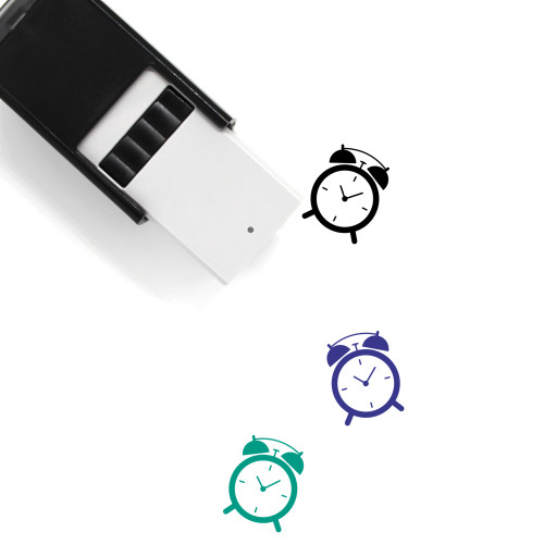 Alarm Clock Self-Inking Rubber Stamp No. 152