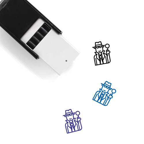 Inspector Self-Inking Rubber Stamp No. 5