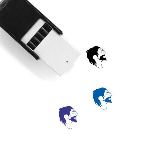 Man Self-Inking Rubber Stamp No. 491