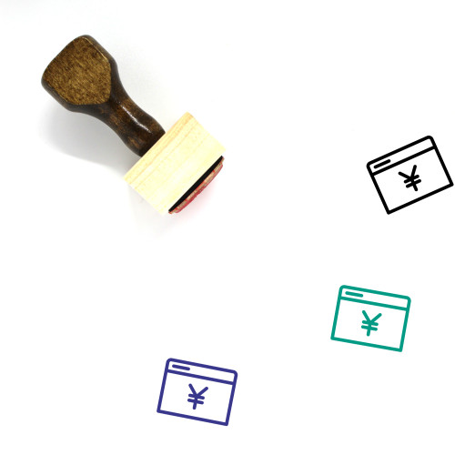 Yuan Browser Wooden Rubber Stamp No. 2