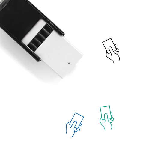 Card Self-Inking Rubber Stamp No. 99