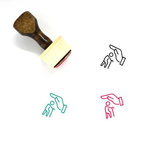 Life Insurance Wooden Rubber Stamp No. 37