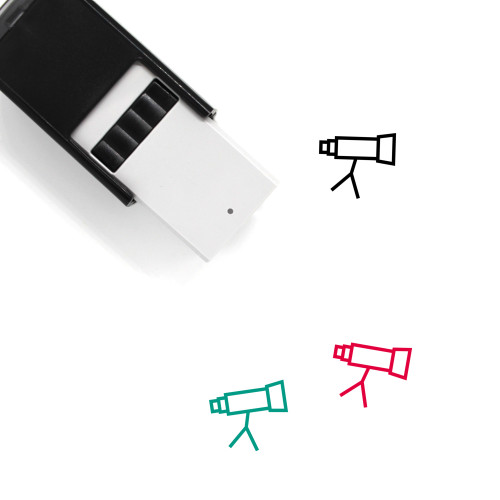 Look Self-Inking Rubber Stamp No. 43
