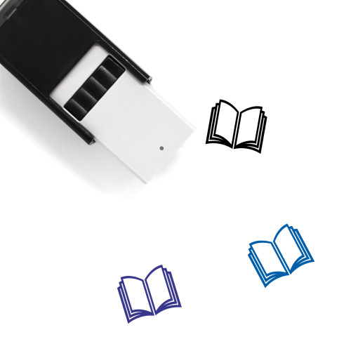 Book Self-Inking Rubber Stamp No. 734