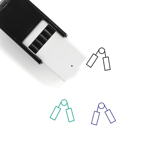 Hand Grip Exerciser Self-Inking Rubber Stamp No. 2
