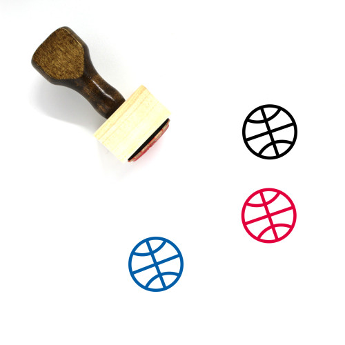 Sport Wooden Rubber Stamp No. 97