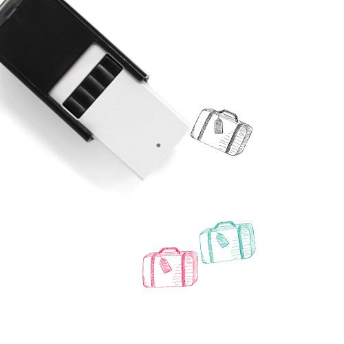 Baggage Self-Inking Rubber Stamp No. 79