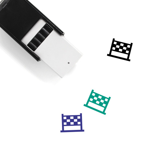 Net Self-Inking Rubber Stamp No. 74