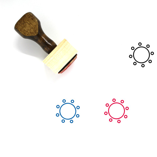 Commitment Wooden Rubber Stamp No. 16
