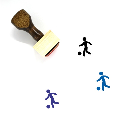 Sport Wooden Rubber Stamp No. 98
