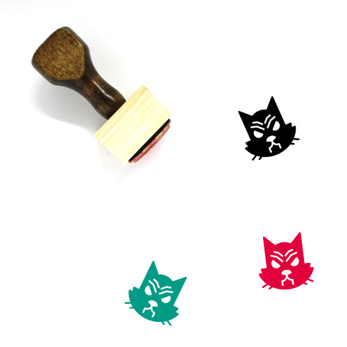 Animal Wooden Rubber Stamp No. 167