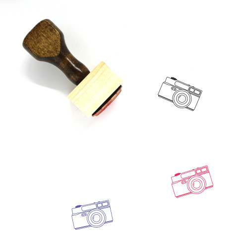 Konika Hexar AF Wooden Rubber Stamp No. 1
