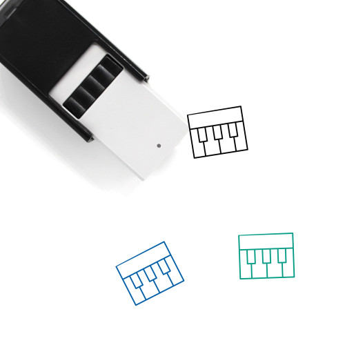 Organ Self-Inking Rubber Stamp No. 14