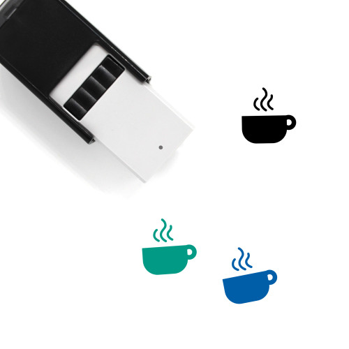 Hot Drink Self-Inking Rubber Stamp No. 5