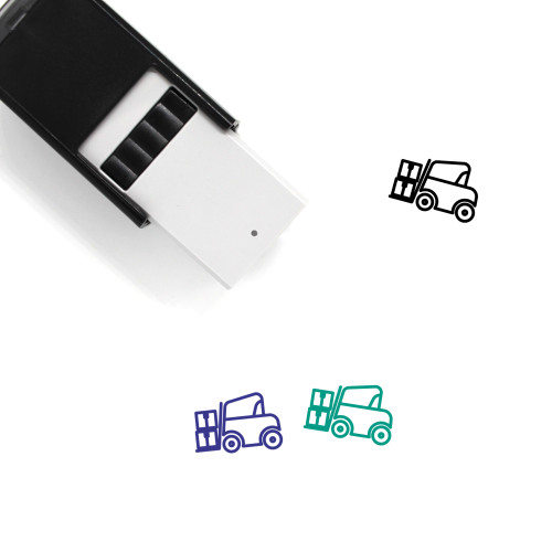 Forklift Self-Inking Rubber Stamp No. 49